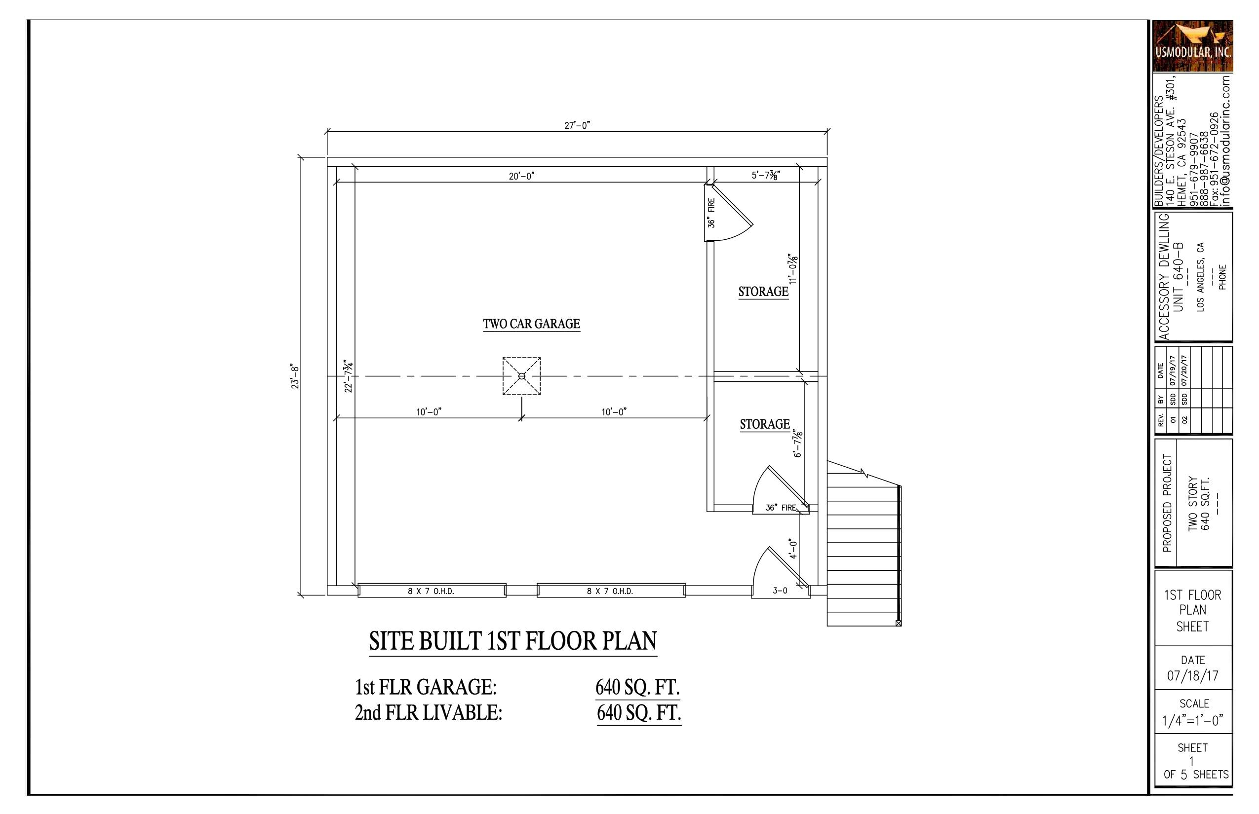Granny flat floor plans los angeles granny flats for Floor design sf